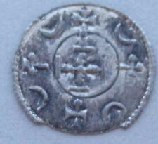 +1 RR ! denar Ag Stephen III 1162 - 1172 Hungary Middle Ages