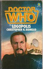 Doctor Who - Logopolis. 1st Target Books edition. Tom Baker / The Master.