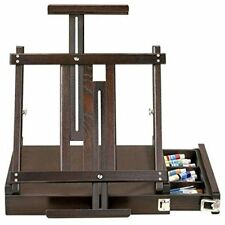"""Solid Wood Artist's Loft Box Table Easel w/ Carrying Handle & Drawer - 16""""x15"""""""
