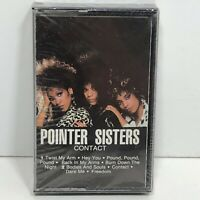 Pointer Sisters Contact Cassette Tape1985 RCA Factory Sealed