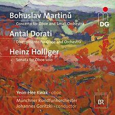 Martinu/Dorati/Holliger - Yeon-Hee Kwak/Munchner Rundfunkorchester [CD]