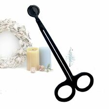 Black Candle Wick Stainless Steel 7 Inch Trimmer Scissor Cutter Snuffers