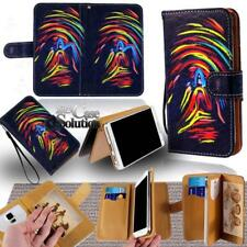 For Various BlackBerry SmartPhones - Leather Wallet Card Stand Flip Case Cover