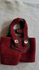 Trachtenhose aus echtem Leder für 20 - 23 cm  Bären oder Puppe -HANDARBEIT