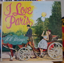 101 STRINGS I LOVE PARIS RETRO LOVERS COVER CANADA PRESS LP SOMERSET 1960