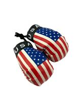 "VI Virgin Islands Keychain Flag Mini Boxing Gloves Key Chain Ornament 3.5/"""