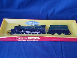 """TRIANG HORNBY R759A G.W.R GREEN 4-6-0 """"ALBERT HALL"""" 4983 BRAND NEW BOXED SEALED"""