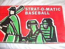 1980 Strat O Matic ORIGINAL  Baseball COMPLETE+ADD PLAYERS