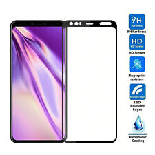 Black FULL Cover 3D Tempered Glass Screen Protector Front For Google Pixel 4 XL