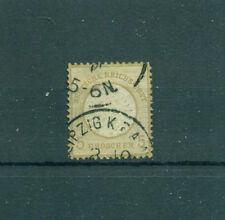 Echte gestempelte Briefmarken aus dem deutschen Reich (1875-1899)