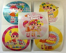 15 Lalaloopsy Sugary Sweet Doll Stickers Party Favors Teacher Supply