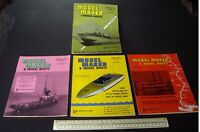 1965 Vintage Model Maker Magazine x 4 Ships Cars Yachts Adverts Engineering #17