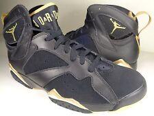 Nike Air Jordan VII 7 Retro GMP Golden Moment Pack Black SZ 9.5 (304775-030)
