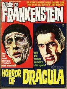 Famous Films #2-1964 Fumetti Warren Curse Of Frankenstein / Horror Of Dracula