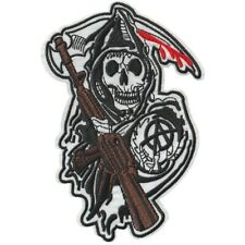 Sons Of Anarchy Iron On Embroidered Patch (Samcro, SOA)