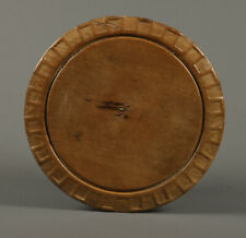 Collectable carved vintage bread board with Ancient Greek meander