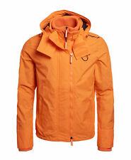 Nueva camisa para hombre para hombre con capucha Technical Pop Zip SD-Cortavientos Nu Naranja Tamaño