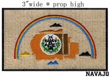 Navajo Nation Flag Iron On Patch 3 x 1 3/4 inch Free Shipping