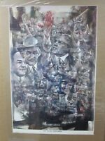 Vintage Poster The Texas Gentleman political 1968 Inv#G591