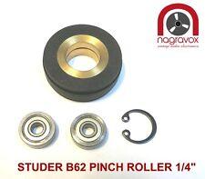 """Studer B62 Pinch Roller 1/4"""""""