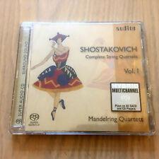 Shostakovich – Complete String Quartets Volume 1 (SACD CD 2006) NEW & SEALED