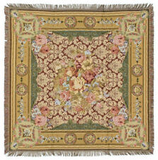 Chambord Throw Blanket - French Decor Throw Blanket - 56x56 tapestry throw