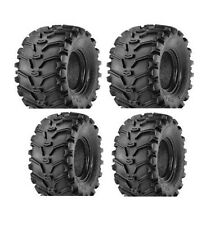 KENDA BEAR CLAW ATV TIRES 25x8-12 FRONT & 25x10-12 REAR ALL 4 TIRES SET OF FOUR
