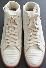 Alexander Macqueen by Puma 34544903 AMQ Tendon Mid White Leather Shoes size 10