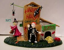 DEPT 56 COME IN IF YOU DARE Halloween Village NEW in BOX