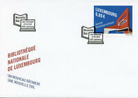 Luxembourg 2019 FDC New National Library 1v Set Cover Architecture Stamps