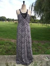 Fab OASIS Animal Print Maxi Halter Neck Stretch Dress Large 14 / 16 BNWT RRP £65