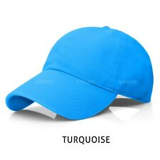 72935d58032 Polo Style Baseball Cap Ball Dad Hat Adjustable Plain Solid Washed Cotton  Mens