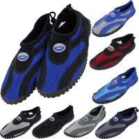 Mens Water Shoes Aqua Socks Yoga Exercise Pool Beach Dance Swim Slip On Surf NEW