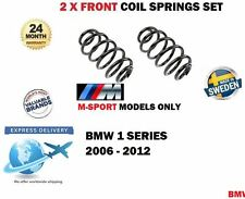FOR BMW 1 SERIES M SPORT 31336767377 31336767378 376 2 x FRONT COIL SPRING SET