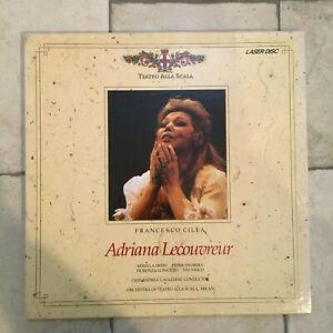 Cilea / Lecouvreur _ Teatro alla Scala _ 2 X LaserDisc _ 1989 Rai USA _near mint