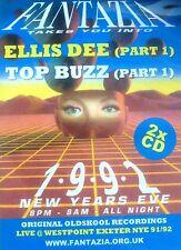 FANTAZIA - 1992 NEW YEARS EVE 2 X CD PACK ELLIS DEE TOP BUZZ DJ OLDSKOOL RAVE