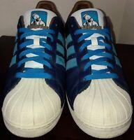 320df206ebd53 ULTRA-RARE SAMPLE Mens 11.5 Authentic Adidas Superstar 2 x Method Man  Sneakers