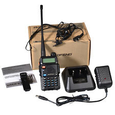 Baofeng UV5R 136-174/400-520 MHz Dual-Band DTMF CTCSS DCS FM Ham Two-Way Radio 1