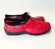 Sloggers Waterproof Premium Garden/Nursing/Rain Shoes/Slip On Shoe 9 Red