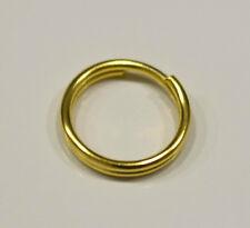 50 Anneaux double de jonction Doré 8mm, Creation bijoux, colier, .... 8 mm