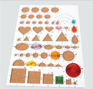 Creative Paper Quilling Template Board papercraft scrapbook