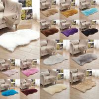 40x60cm Schaffell flauschige Haut Kunstpelz gefälschte Teppich Matten Teppiche