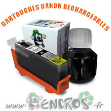 RECHARGEABLE Kit Cartouche Rechargeable Canon CLI8 Black