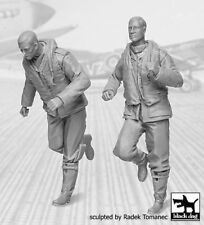 Black Dog 1/32 British Raf Fighter Pilots Set #2 1940-1945 Wwii (2 Figs.) F32045