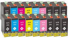 18x XXL Tinten Patronen für Epson Stylus Photo R3000 mit Chip Kompatibel