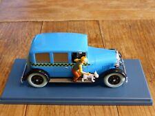 """Voiture miniature Tintin au 1/24ème Le taxi de Chicago """" Tintin en Amérique """""""