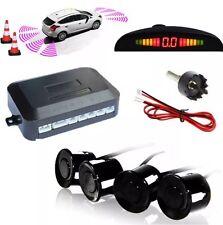 Coche Furgoneta Vehículo De Aparcamiento Trasero Reverso 4 Sensores Zumbador pantalla de radar alarma audio