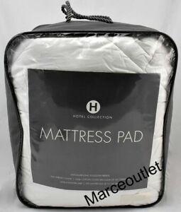 Hotel Collection 500 Thread Count Cotton Hypoallergenic Mattress Pad QUEEN
