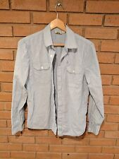 Volcom Canal L/S Organic Cotton Long Sleeve Button Shirt Mens Size Small (S)