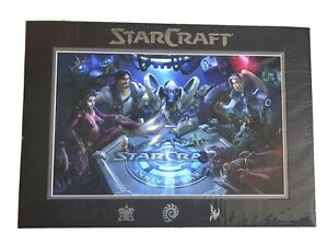 StarCraft 20th Anniversary Limited Edition Art Print 1 Out Of 200